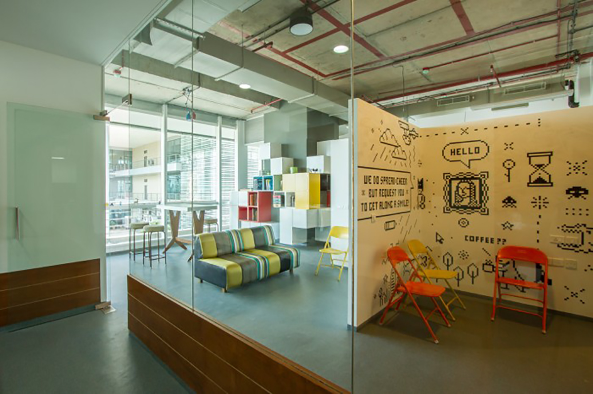 6 coolest offices in mumbai you 39 ll wish to work for the for Architecture office