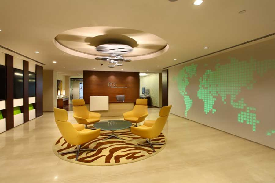 Office spaces in gurgaon that are breaking the for Design consultancy boston