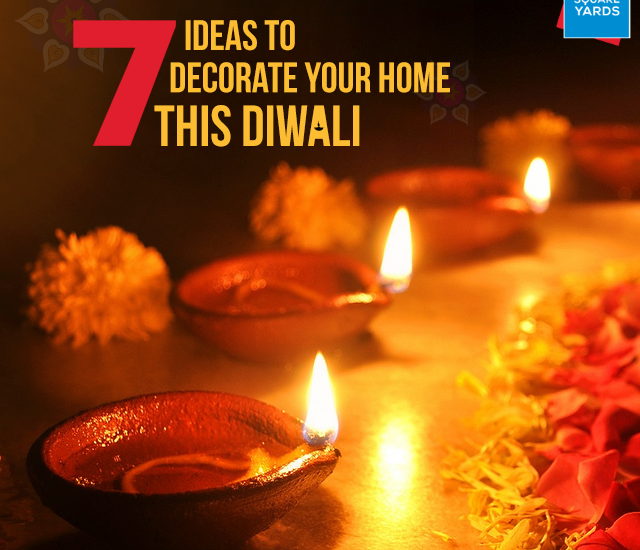 Ideas To Decorate Home For Diwali Part - 30: 7 Ideas To Decorate Our Home This Diwali. Diwali-1
