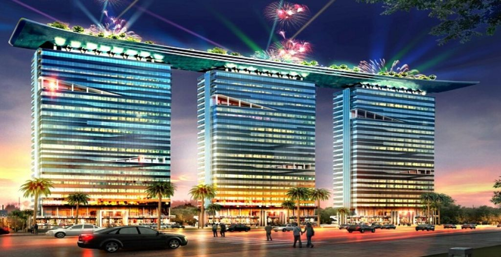 Bhutani Alphathum is a pioneering commercial venture in Noida