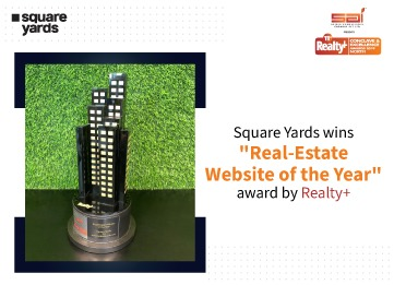 """Square Yards has won """"Real-Estate Website of the Year"""""""