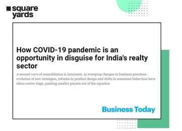 COVID-19 could present a hidden opportunity for Indian real estate according to Tanuj Shori