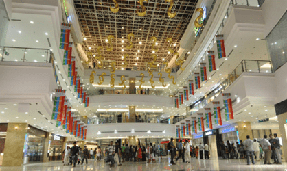 Which is the biggest Mall in India ?