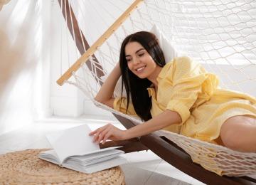 hammock reading corner