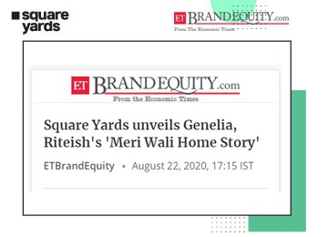 Genelia and Riteish's Meri Wali Home Story released by Square Yards