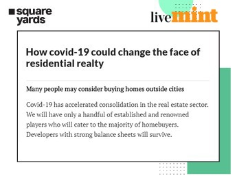 How is the residential real estate sector being impacted by COVID19