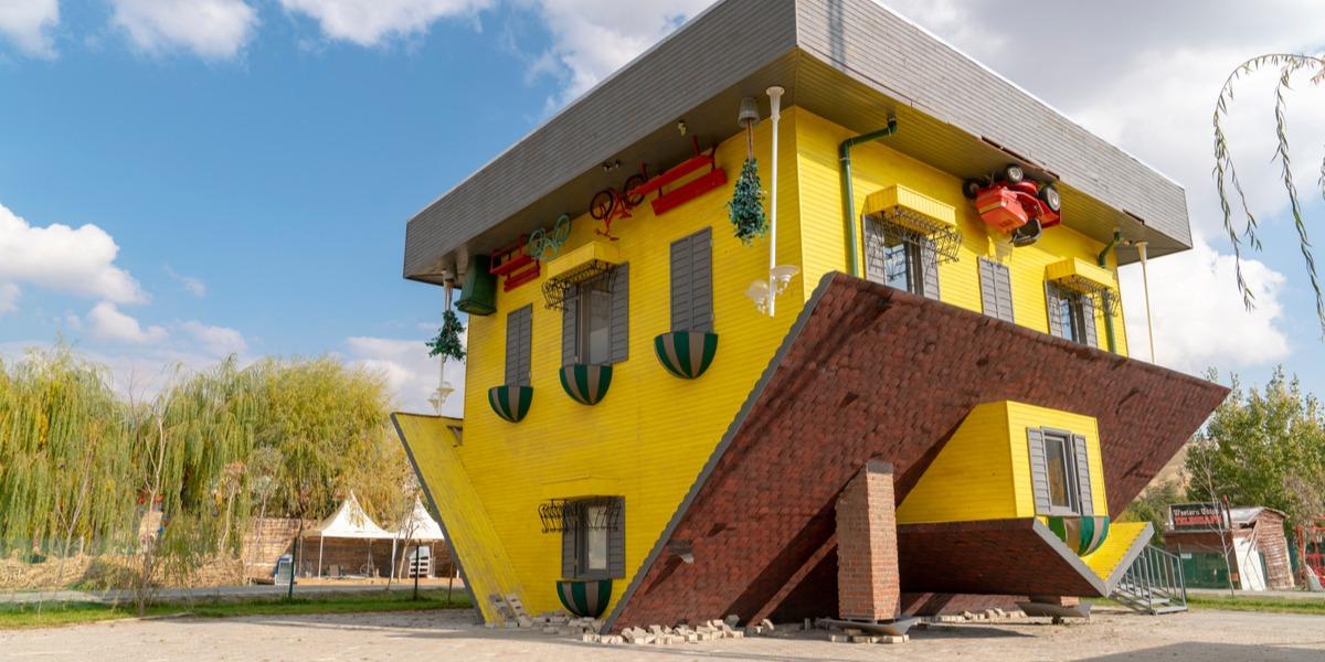 Turkish Upside-Down House