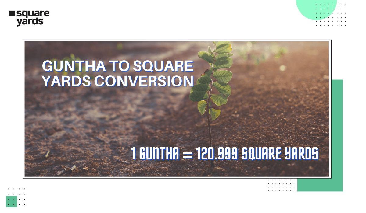 Guntha to Square Yards