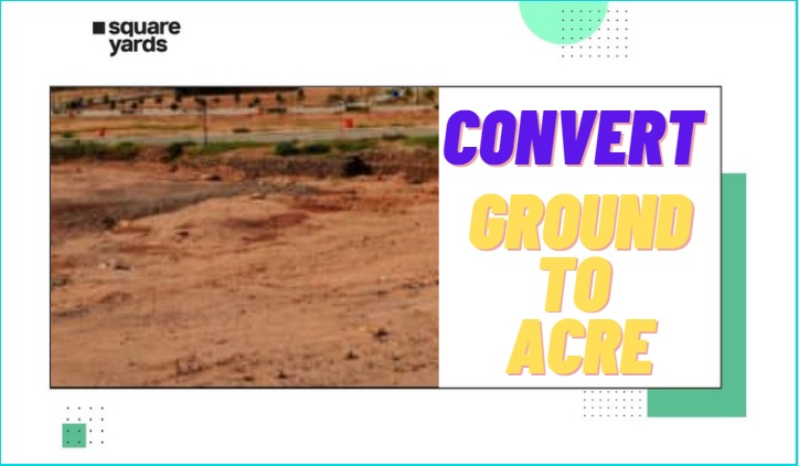 convert ground to acre