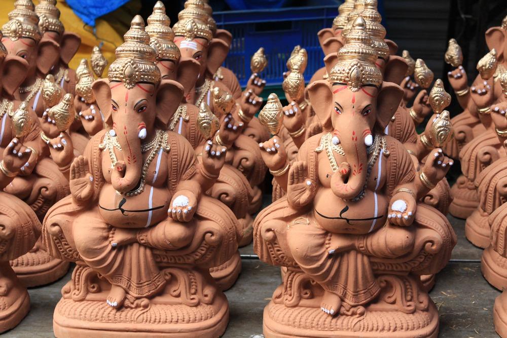 Eco-friendly Ganpati Puja