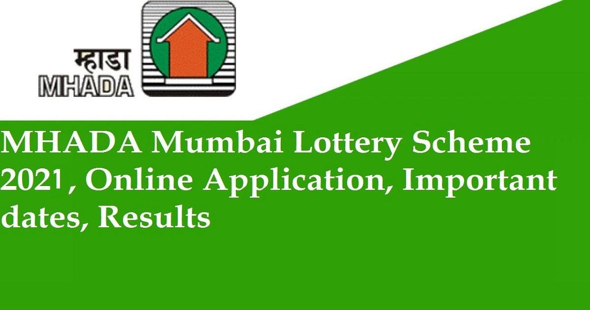 mhada lottery 2021
