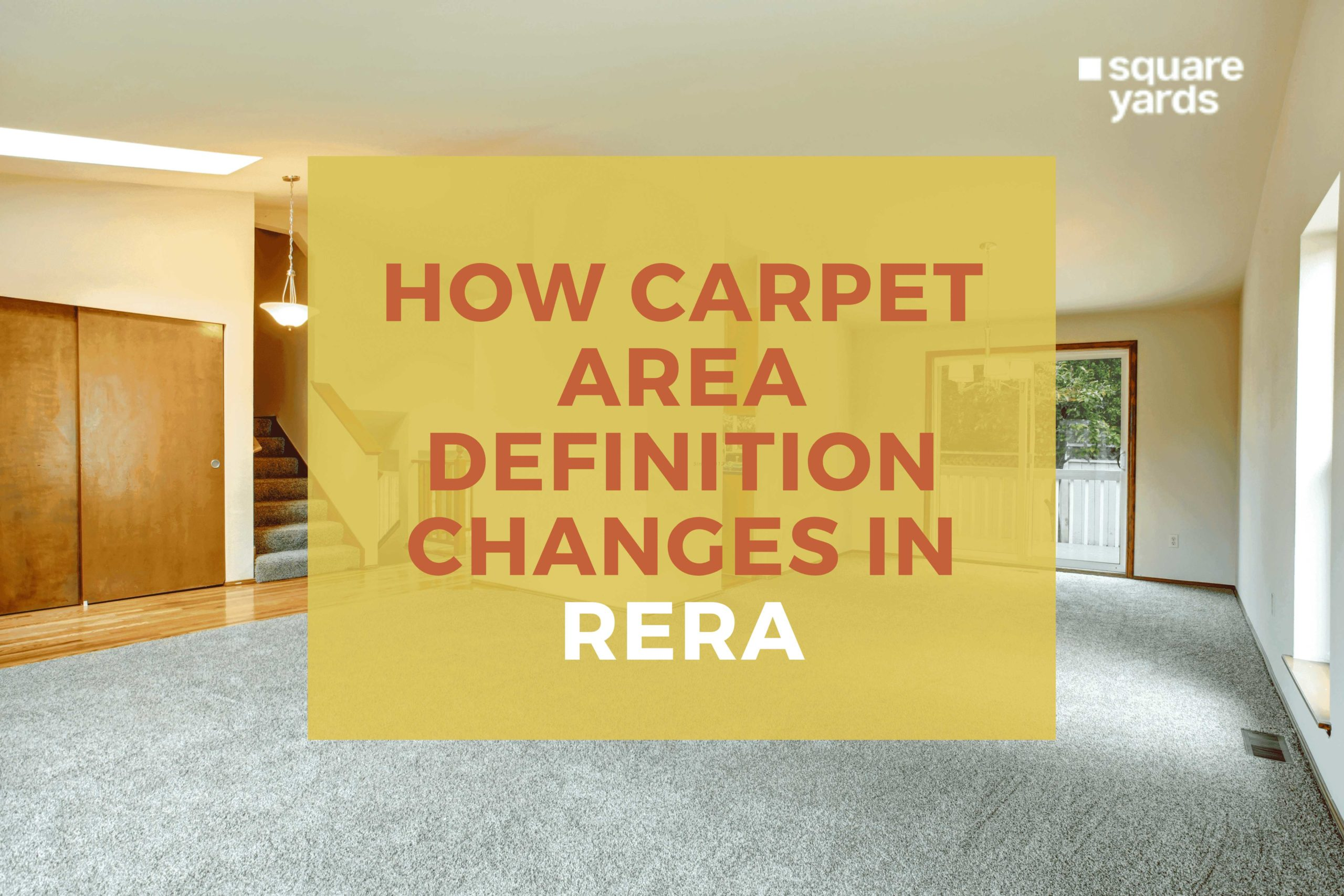 How carpet area definition changes in RERA