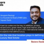 Pin Code becomes key determiner for luxury realty purchases