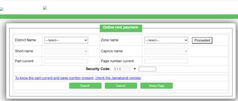Procedure-for-Depositing-Rent-Online