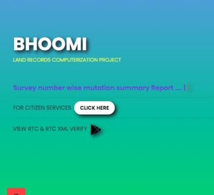 bhoomi-mutation-online