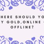 buy gold, online or offline