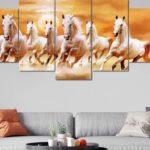 Why Should You Keep 7 Horses Painting According to Vastu Shastra?