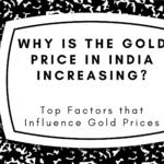 Gold Price in India Increasing