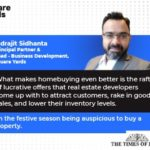 Home-buying becomes more feasible in festive period