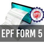 EPF Form 5
