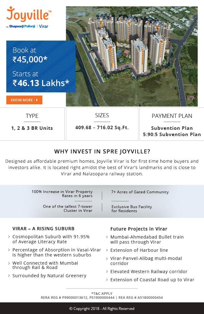 SPRE-Joyville-Virar-Mumbai